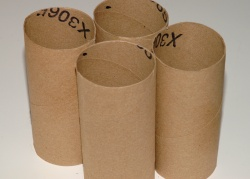 How can I reuse or recycle toilet roll tubes?