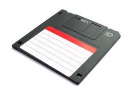 How can I reuse or recycle floppy discs?