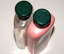 How can I reuse or recycle shampoo bottles?