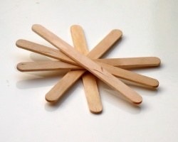 How can I reuse or recycle … ice lolly sticks?