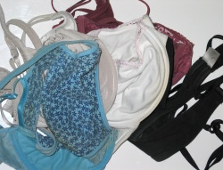 How can I reuse or recycle … old bras?