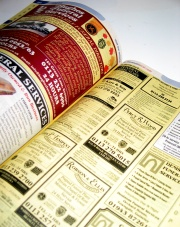 How can I reuse or recycle phone books & Yellow Pages?
