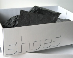How can I reuse or recycle … shoe boxes?