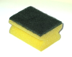How can I reuse or recycle … sponge cleaner things?