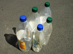 How can I reuse or recycle … big squash bottles?
