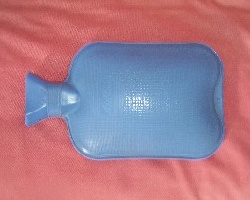 How can I reuse or recycle … old hot water bottles?