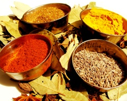 Spices for a curry, mmm, curry