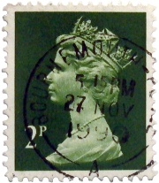 An old postage stamp