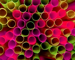 How can I reuse or recycle … plastic drinking straws?