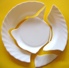 How can I reuse or recycle … broken crockery?