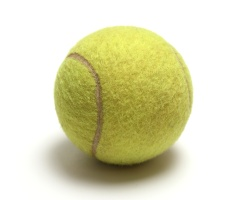 How can I reuse or recycle … old tennis balls?