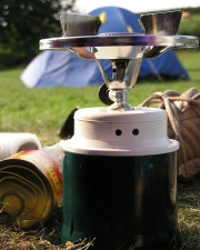 How can I reuse or recycle … camping fuel canisters?