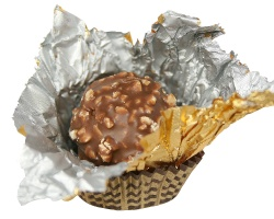 How can I reuse or recycle … shiny chocolate wrappers?