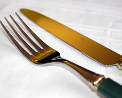 How can I reuse or recycle … old cutlery?