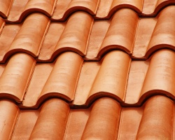 A red tiled roof