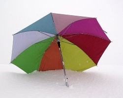 How can I reuse or recycle … an umbrella cover?