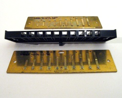 "How can I reuse or recycle … old ""broken"" harmonicas?"
