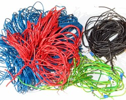 How can I reuse or recycle a bundle of wires?