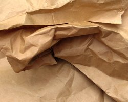 How can I reuse or recycle … brown paper?
