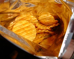 How can I reuse or recycle … crisp packets?
