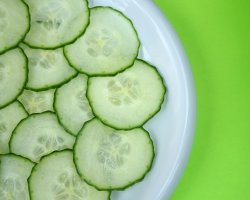 How can I reuse or recycle … cucumber?