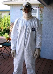 How can I reuse or recycle Tyvek overalls?