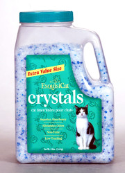 How can I reuse or recycle kitty litter containers?