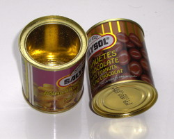 How can I reuse or recycle little tin cans?