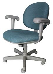 How can I reuse or recycle broken office/desk chairs?