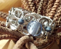 bracelet of conscience made out of ring pulls