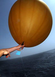 How can I reuse or recycle weather balloons?