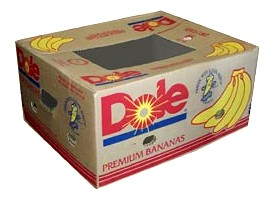 How can I reuse or recycle cardboard banana boxes?