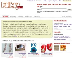 Like crafts using recycled things in the UK?  Try Folksy