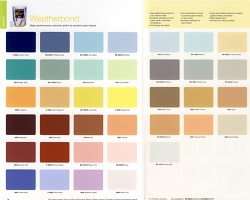 How can I reuse or recycle paint colour charts?