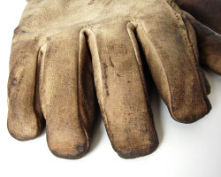 How can I recycle (or possibly reuse) old work gloves?
