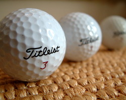 How can I reuse or recycle old golf balls?