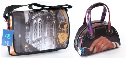 Banner bags - laptop and bowler bag