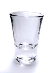 How can I reuse or recycle shot glasses?