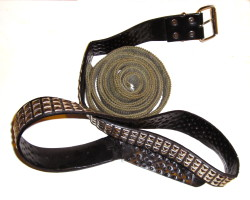 How can I reuse or recycle snapped belts?