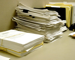 office papers
