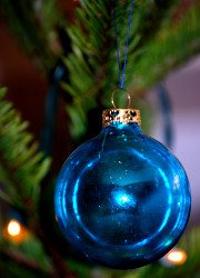 How can I reuse or recycle cracked Christmas baubles?