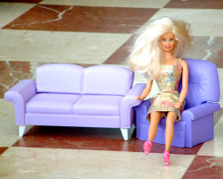 How can I reuse or recycle dolls' house / Barbie furniture?