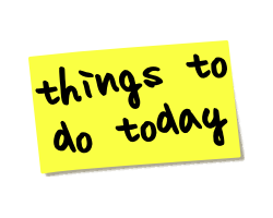 Things to do today logo