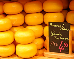 Wax coated cheese