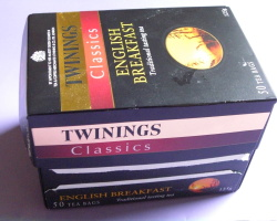 How can I reuse or recycle tea bag boxes?