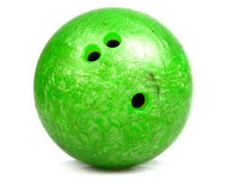 How can I reuse or recycle bowling balls?