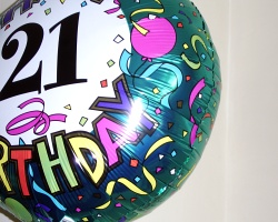 How can I reuse or recycle deflated balloons?