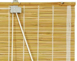 How can I reuse or recycle a bamboo blind?