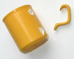 How can I reuse or recycle … mugs with broken handles?