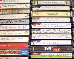 How can I reuse or recycle cassette tape cases?